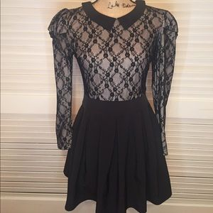 Lace witchy dress
